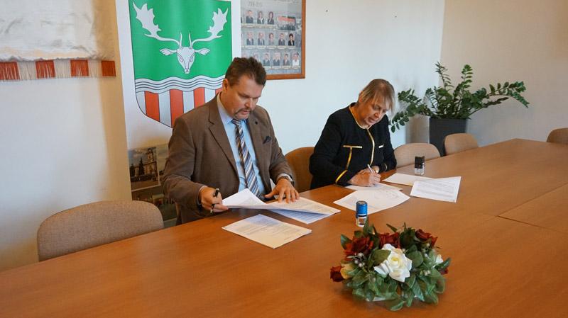 Tamási város fenntartható ökoturisztikai fejlesztése projekt – Újabb szerződés került aláírásra