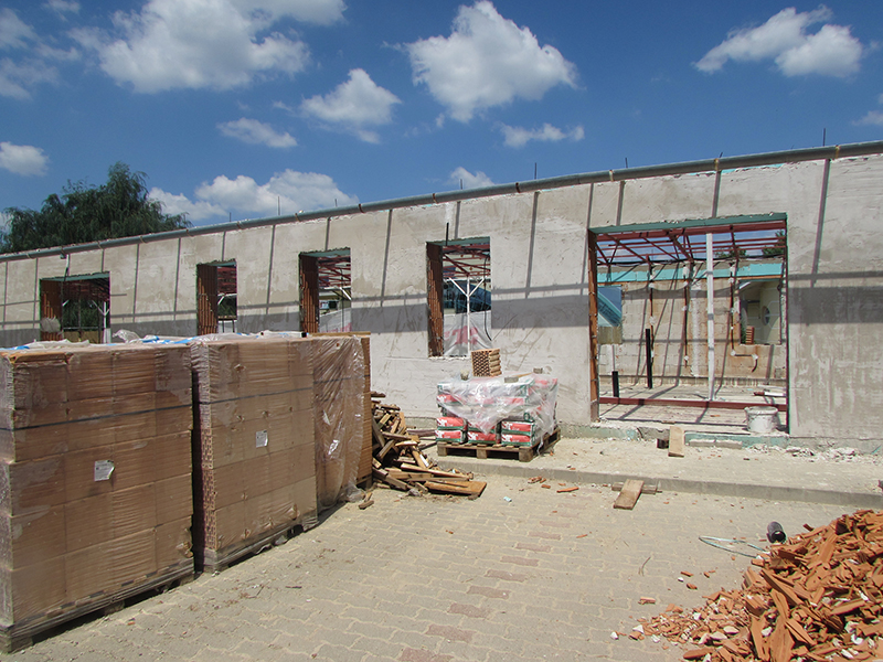A Kilátó elkészült, a Túrapont és a Látogatóközpont építése jól halad